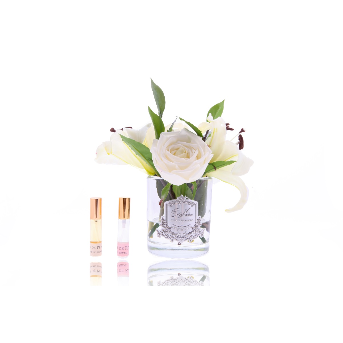 COTE NOIRE מפיץ ריח LILLIES &ROSES WHITE - -